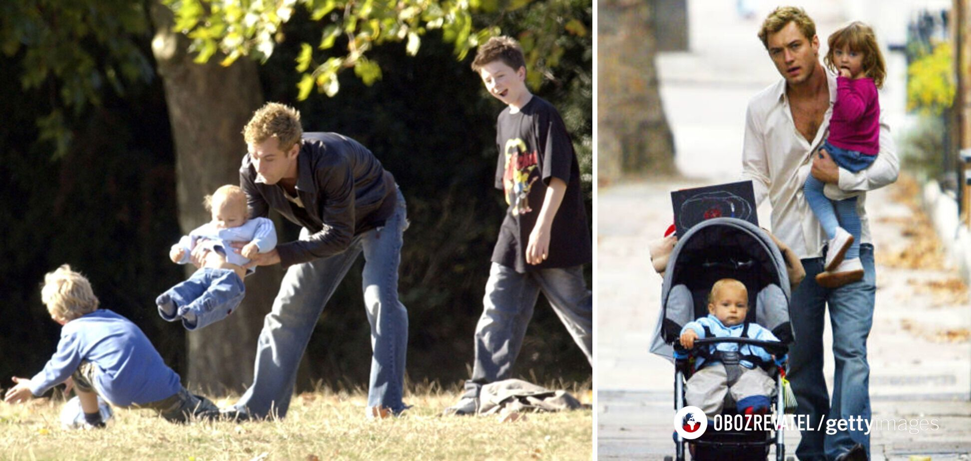 Джуд Лоу – отец 6 детей.