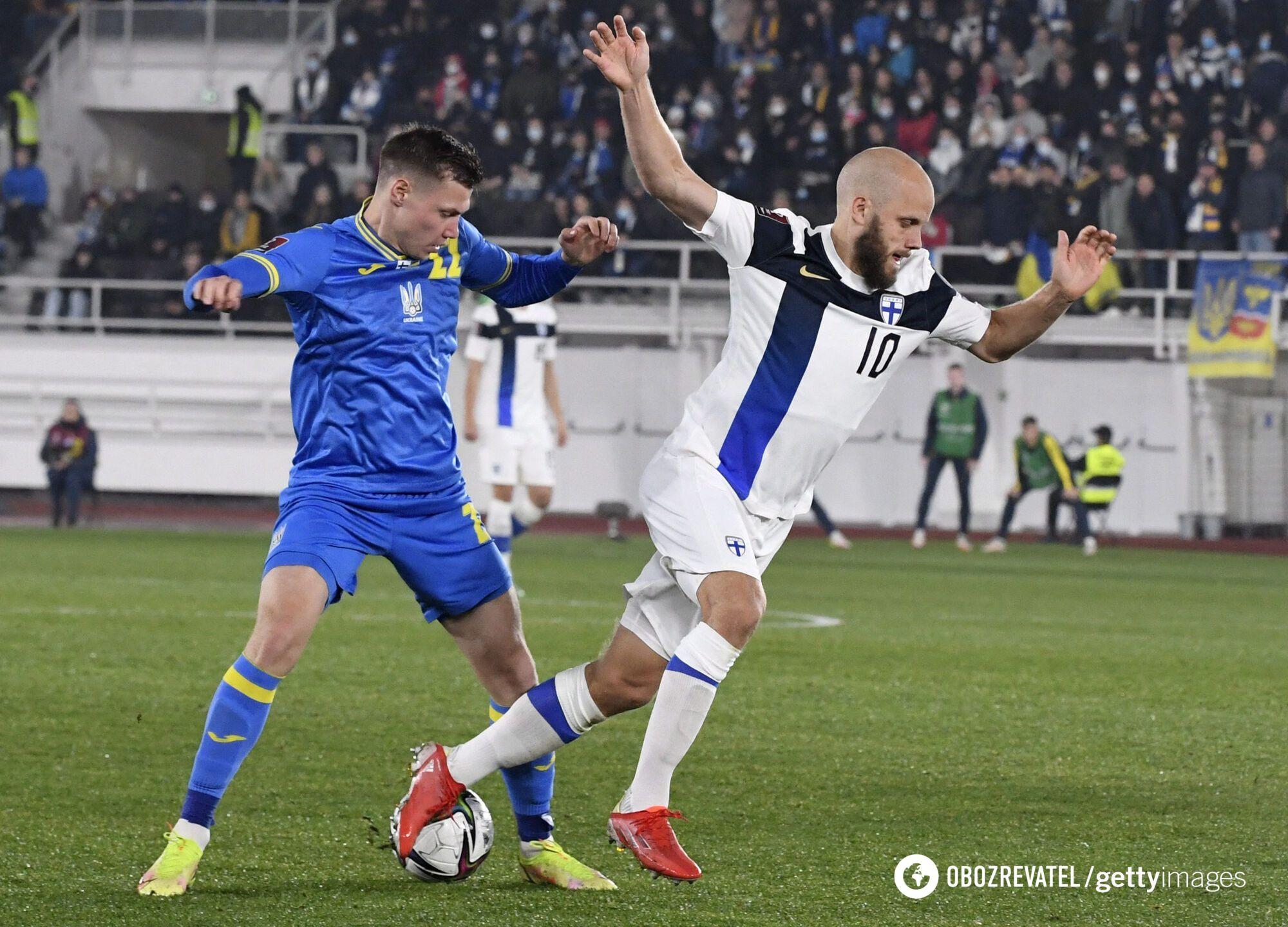 Пукки забил Украине гол