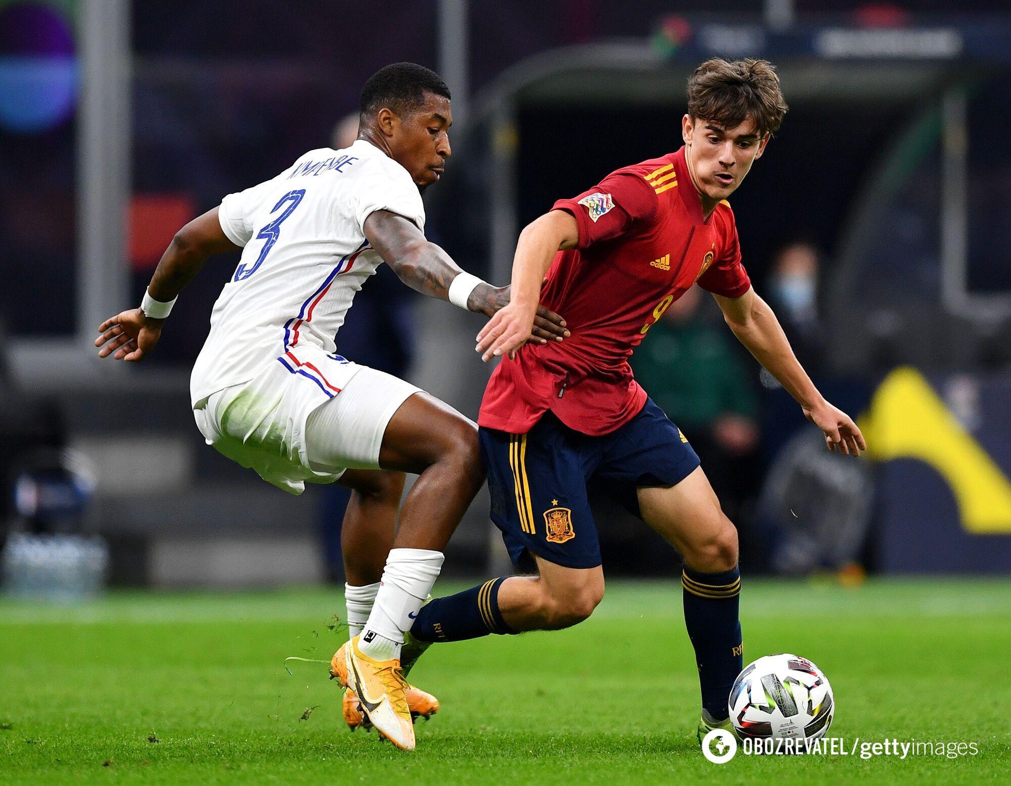 Франція зіграла з Іспанією у фіналі Ліги націй