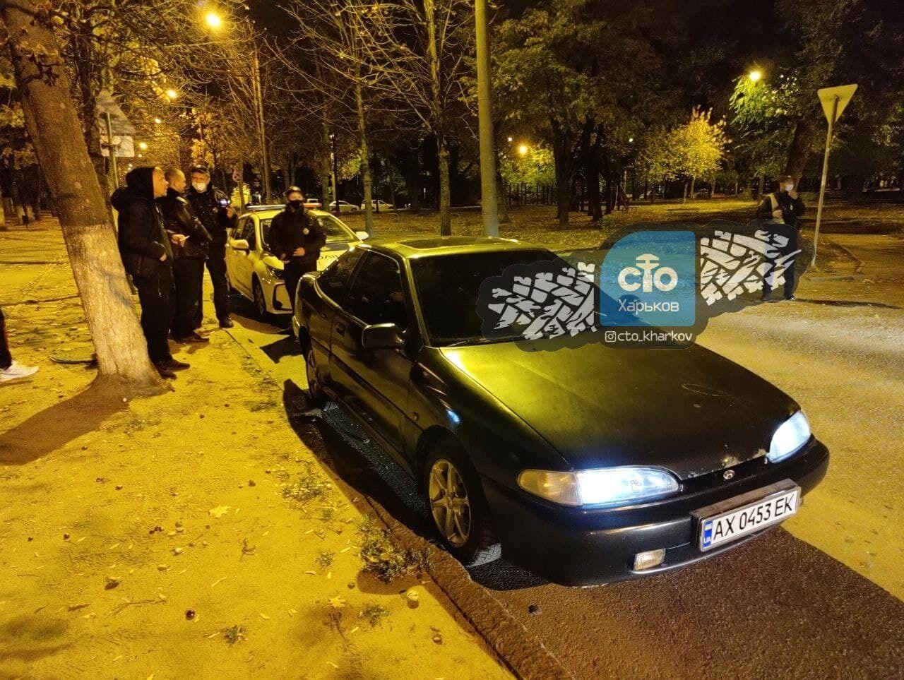 В Харькове задержали водителя.