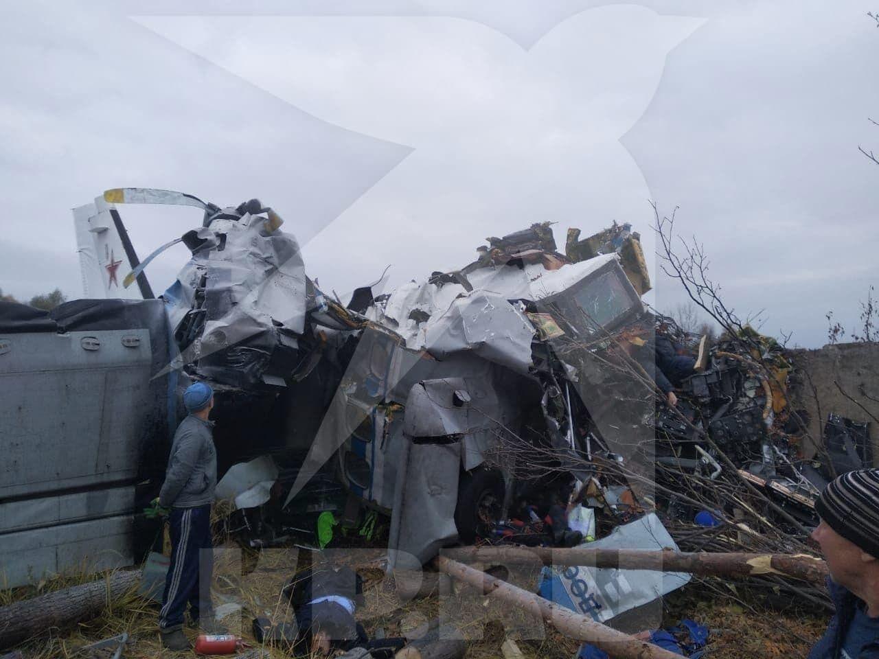 Літак упав одразу після зльоту з аеродрому