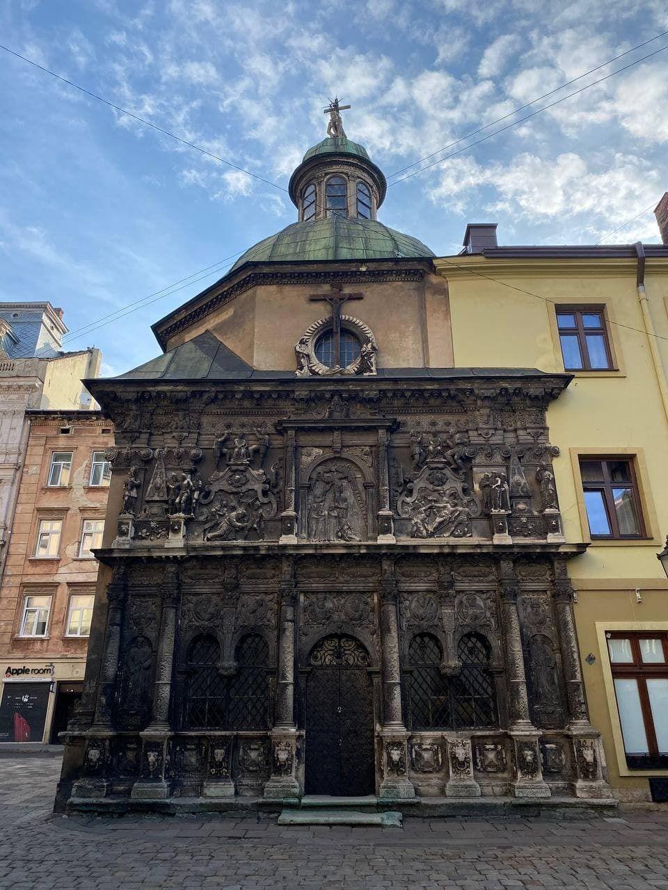Религиозные объекты во Львове имеют свою давнюю историю.