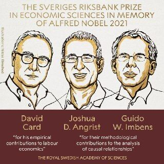 Лауреаты Нобелевской премии по экономике памяти Альфреда Нобеля в 2021 году