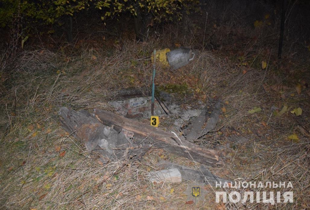 Колодец, где нашли тело женщины