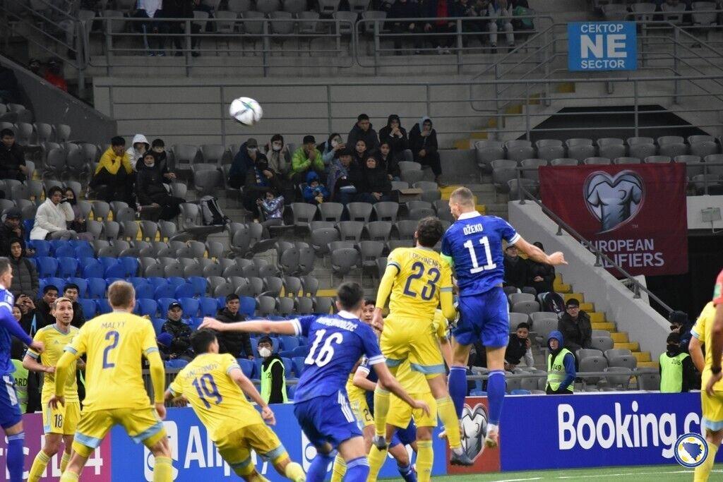 Боснийцы добыли победу в Казахстане.
