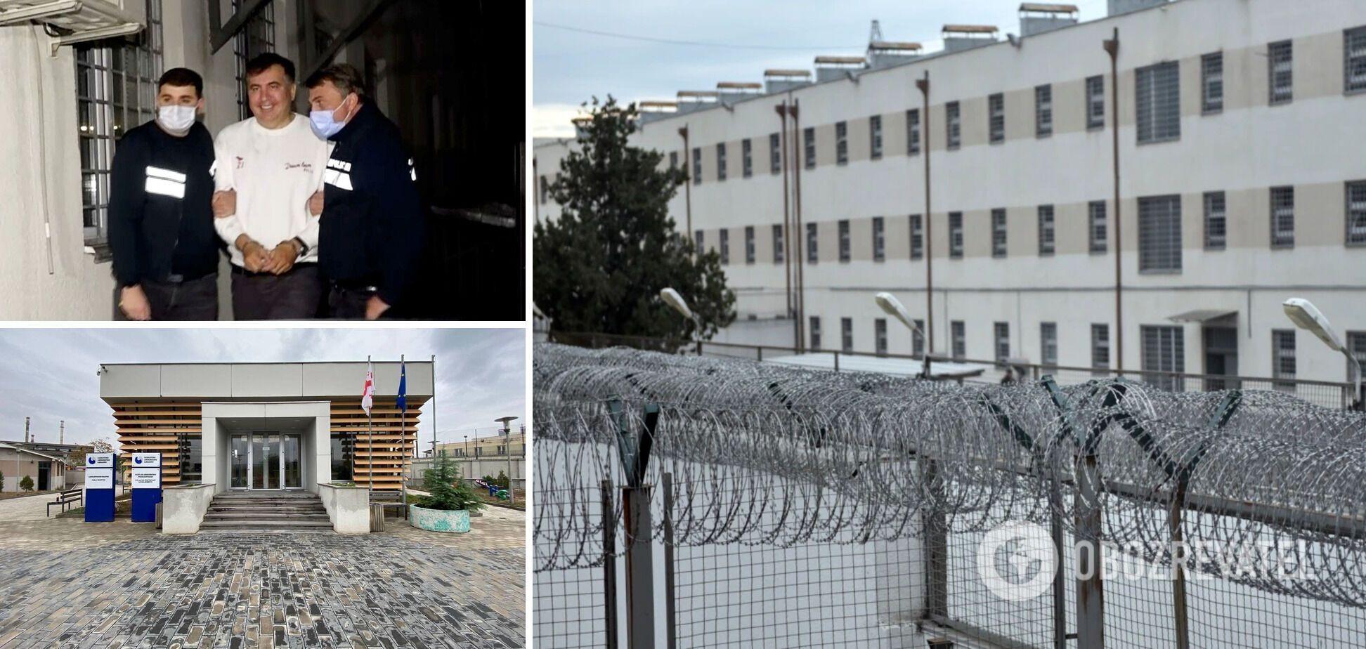 В тюремной камере Саакашвили сначала не было матраса и телевизора