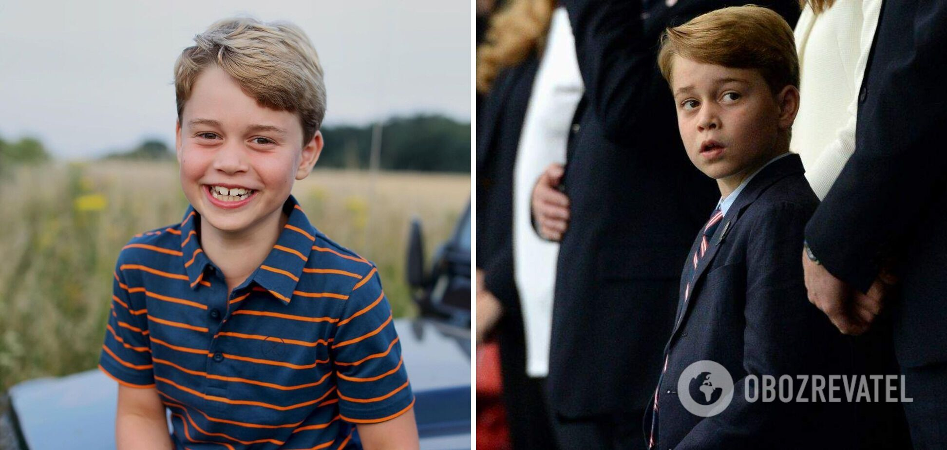 Принц Джордж является внуком принца Чарльза.
