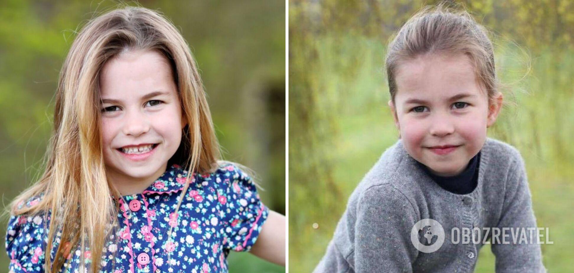 Принцесса Шарлотта является средней дочерью принца Уильяма и Кейт.