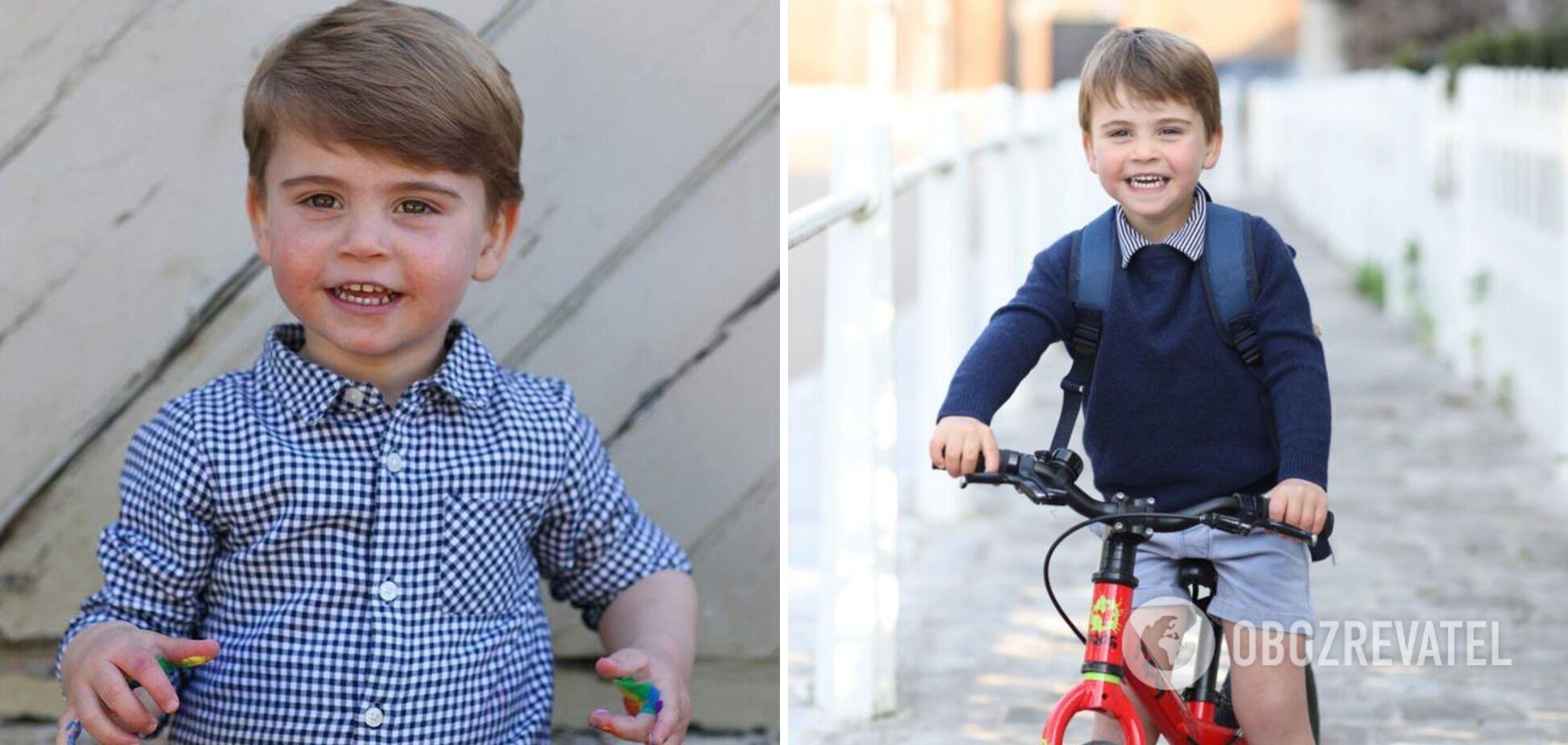 Принц Луи является младшим сыном принца Уильяма и Кейт.