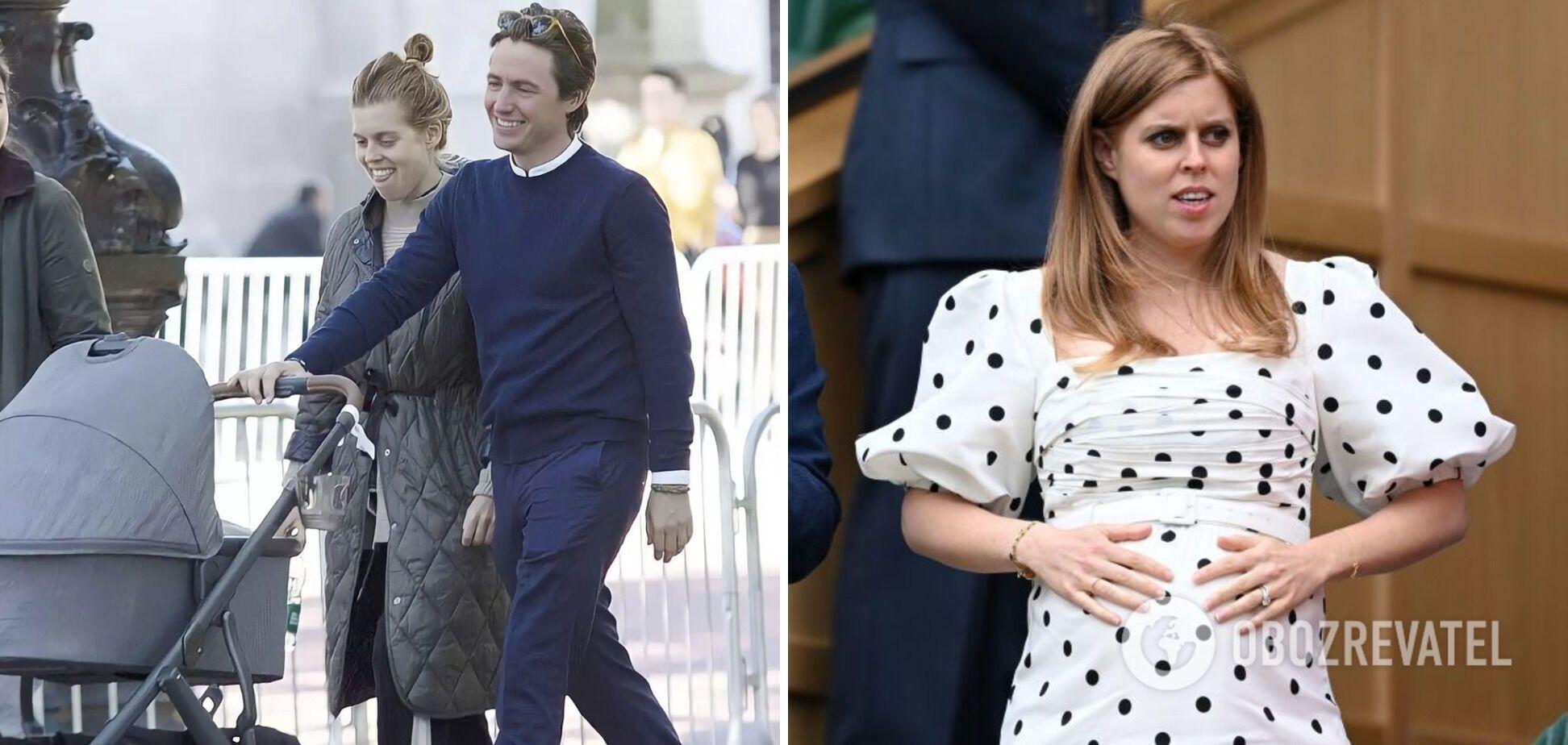 Принцесса Беатрис родила дочь.
