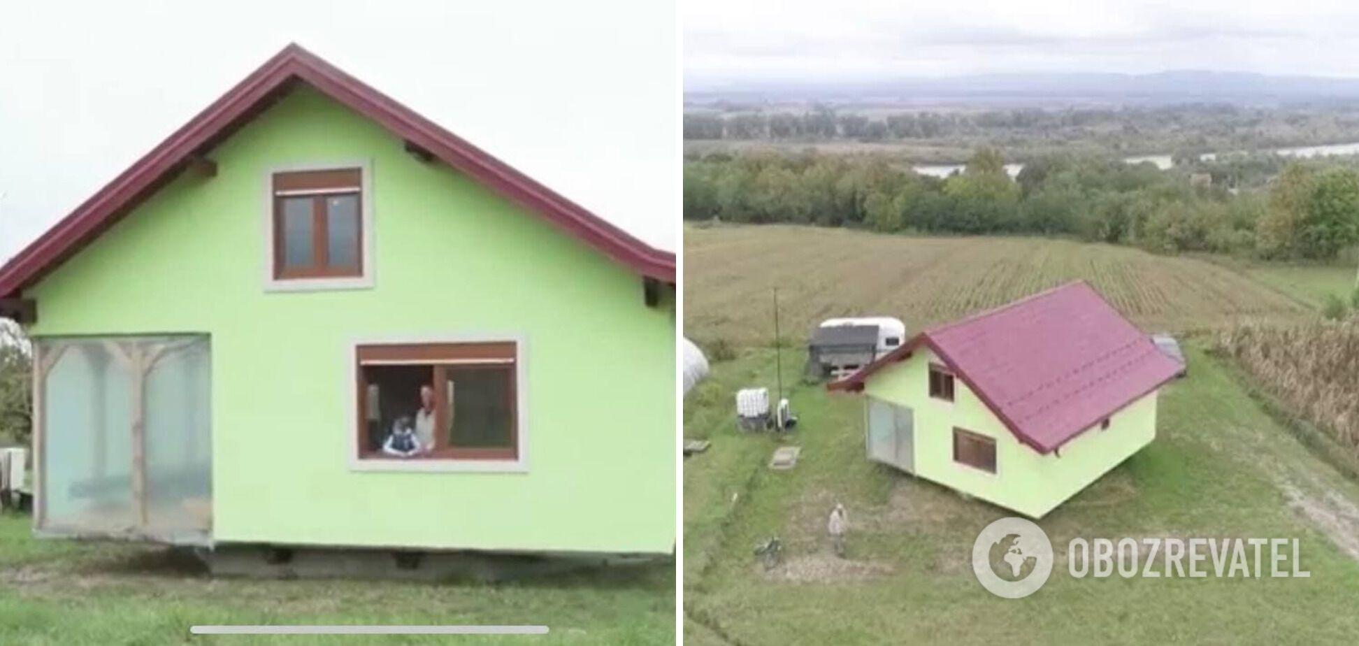 Будинок, який крутиться навколо своєї осі
