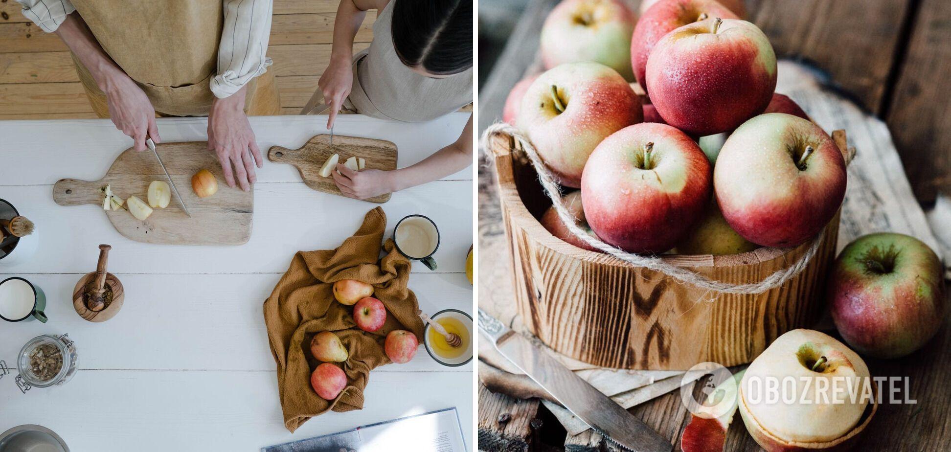 Приготовление яблочного повидла