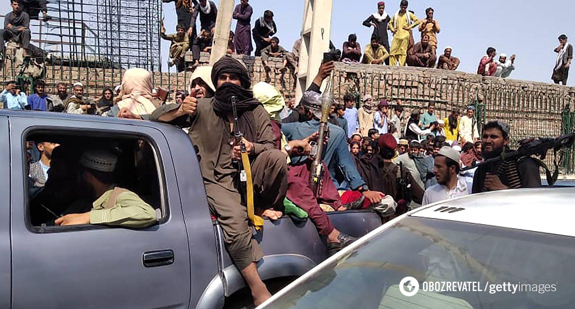 """""""Талибан"""" захватил Афганистан"""