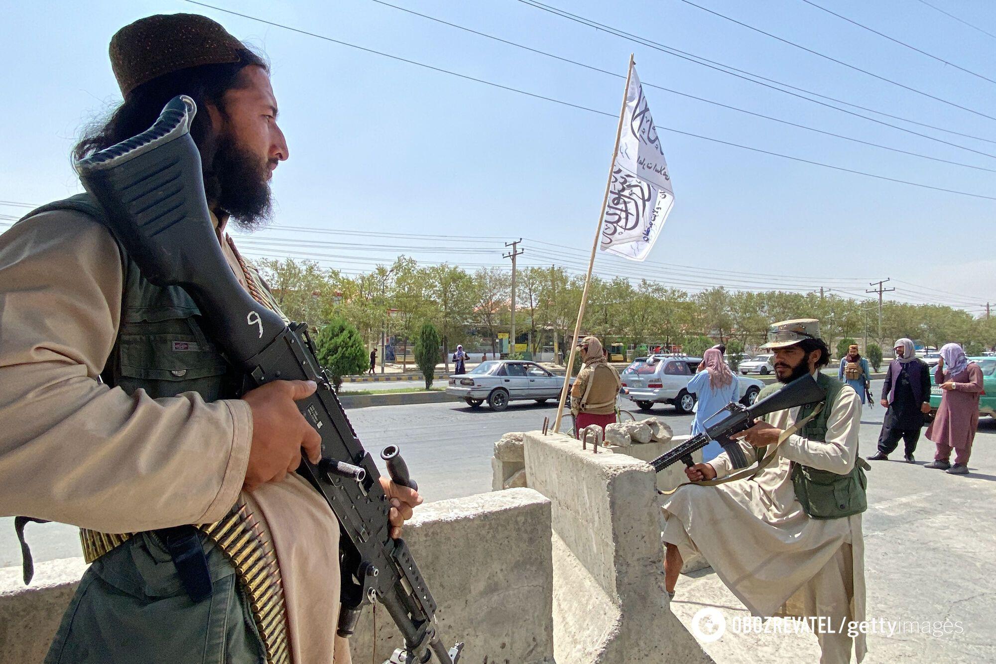 "Боевики ""Талибана"" в Афганистане"