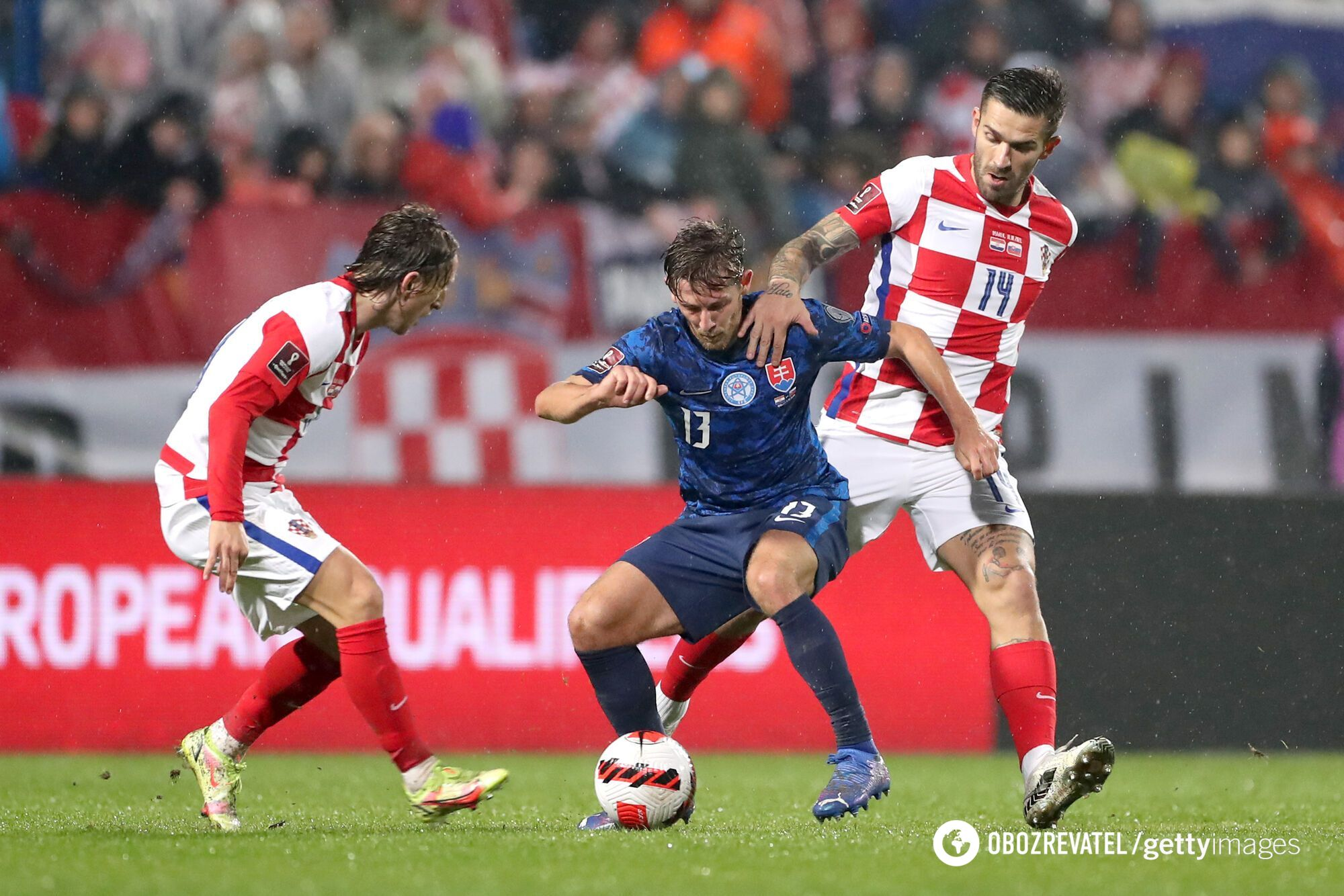 Хорватия не смогла обыграть Словакию.