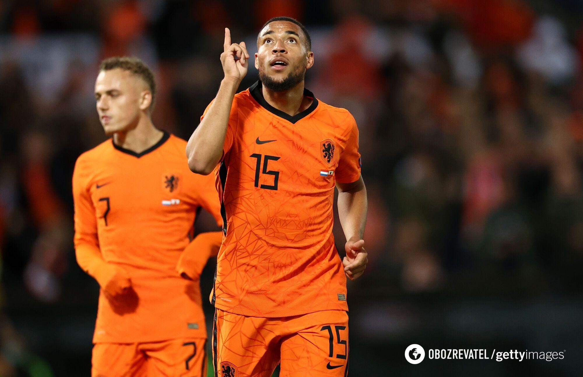 Нидерланды лидируют в своей группе.