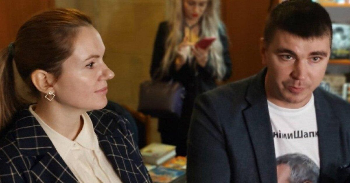 У залі пленарних засідань Ради Скороход сиділа поруч з Поляковим