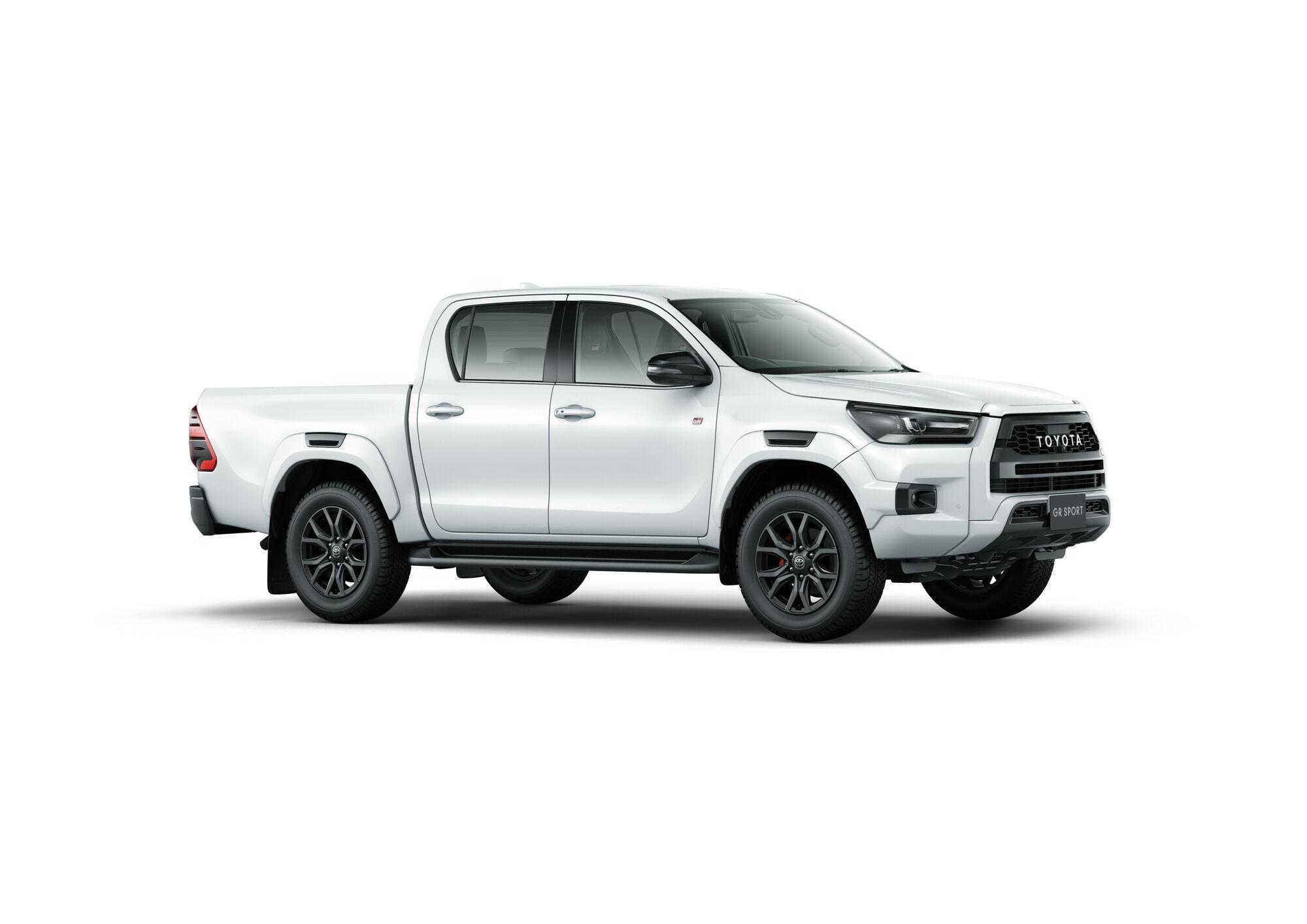За основу для создании новинки был взят топовый вариант Toyota Hilux