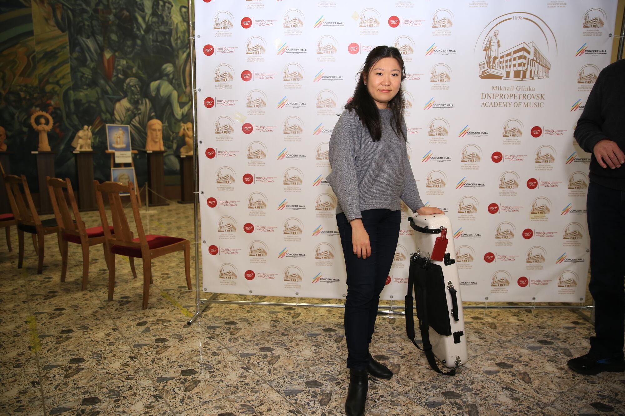 Профессор Высшей школы искусств в Берне, скрипачка Тианва Янг (Китайская Народная Республика/Германия)