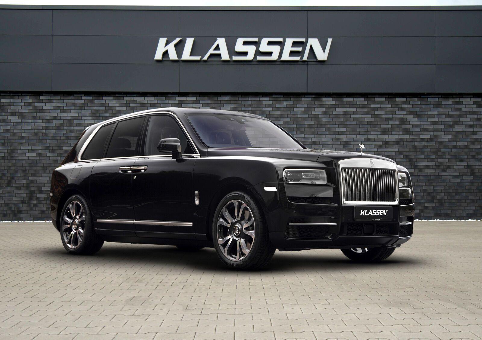 Klassen применяет для Rolls-Royce Cullinan броню уровня BR6 по стандарту CEN 1063