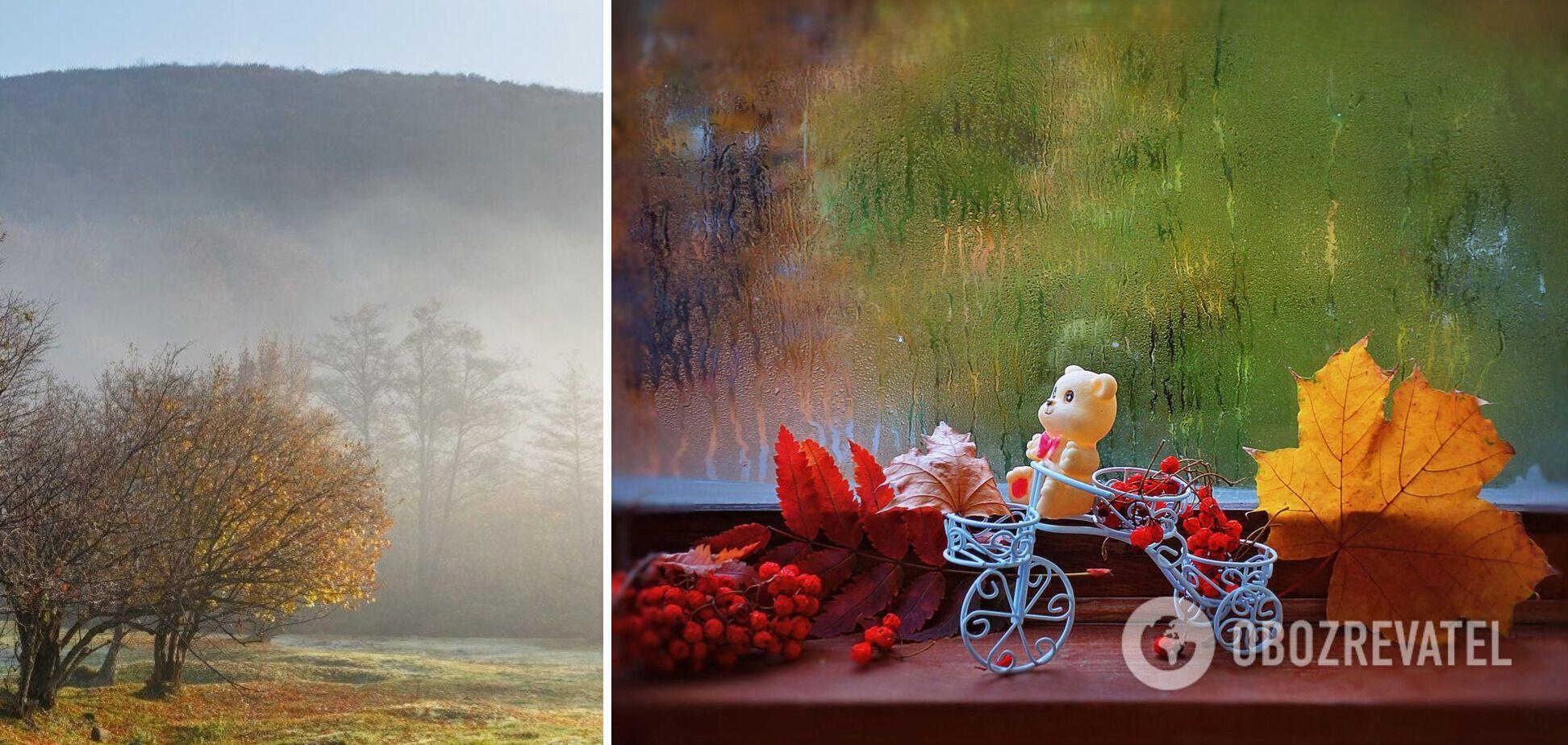 13 октября туман окутает западные области, в других регионах будет дождливо