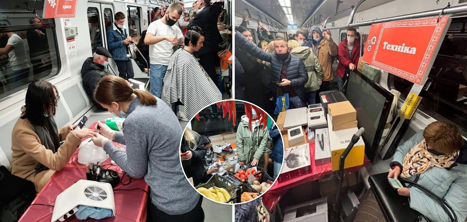 Нелегальные бизнесмены создают проблемы для пассажиров.