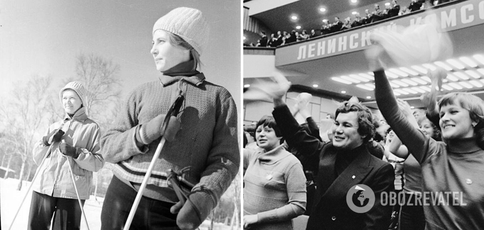 Комсомольцы работали в Союзе.
