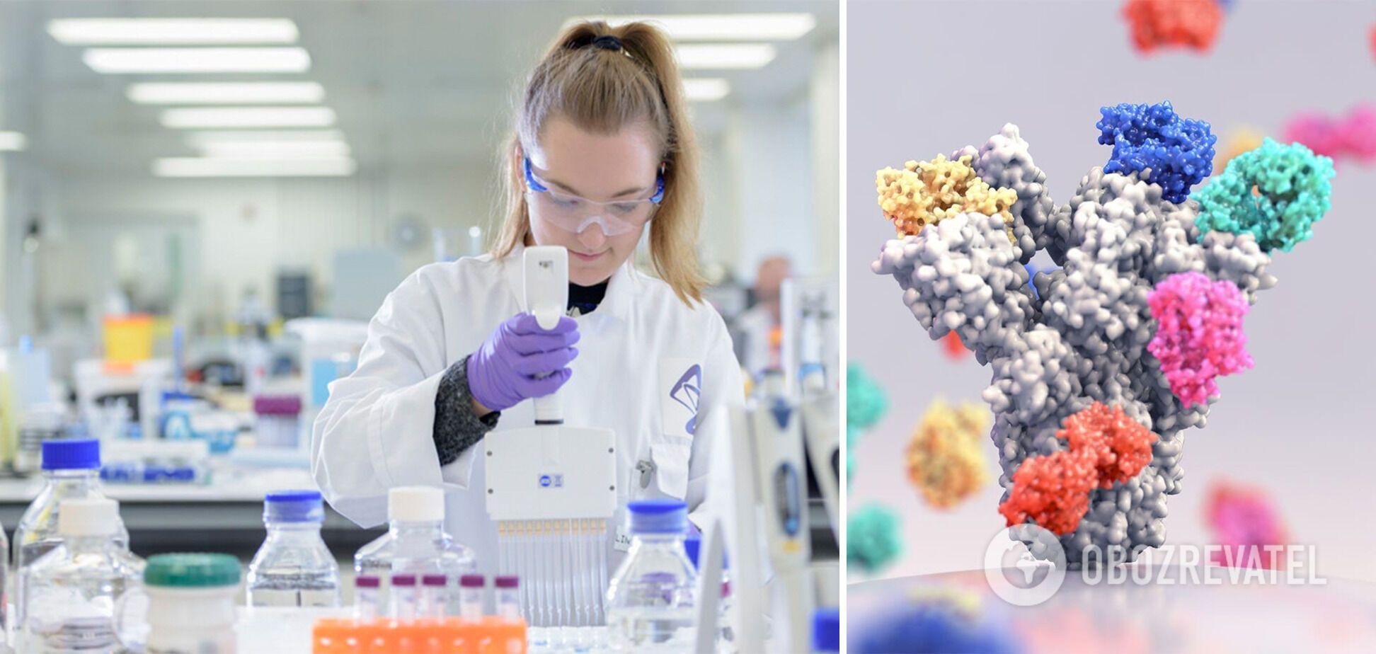 """Ученые говорят, что """"коктейль антител"""" подойдет тем, кто не может пройти вакцинацию против COVID-19"""