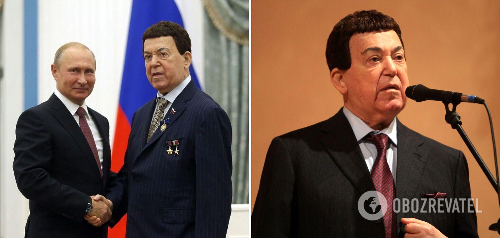 Кобзон потрапив під санкції через підтримку проросійських бойовиків на Донбасі