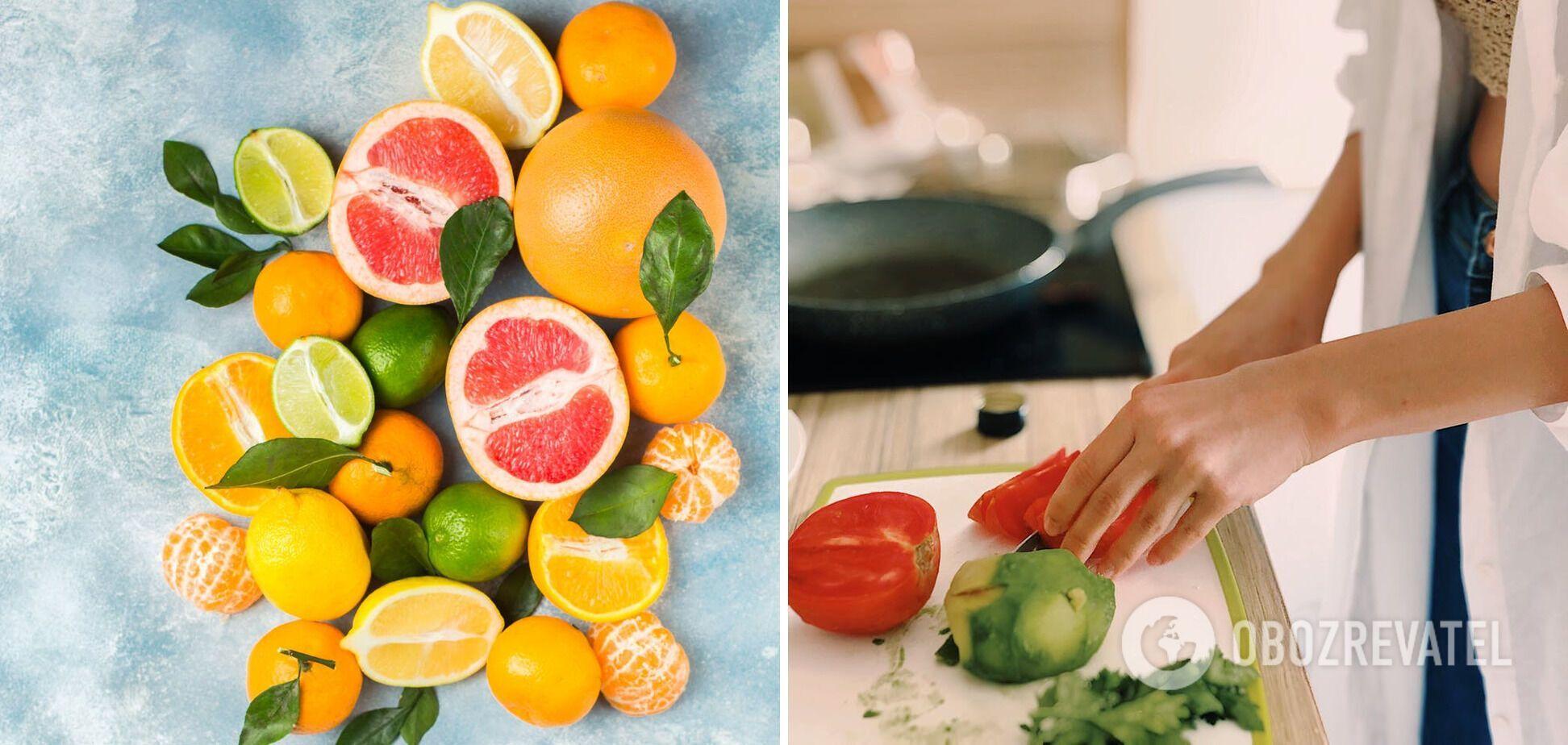 Овочі та фрукти – ідея вечірнього перекусу