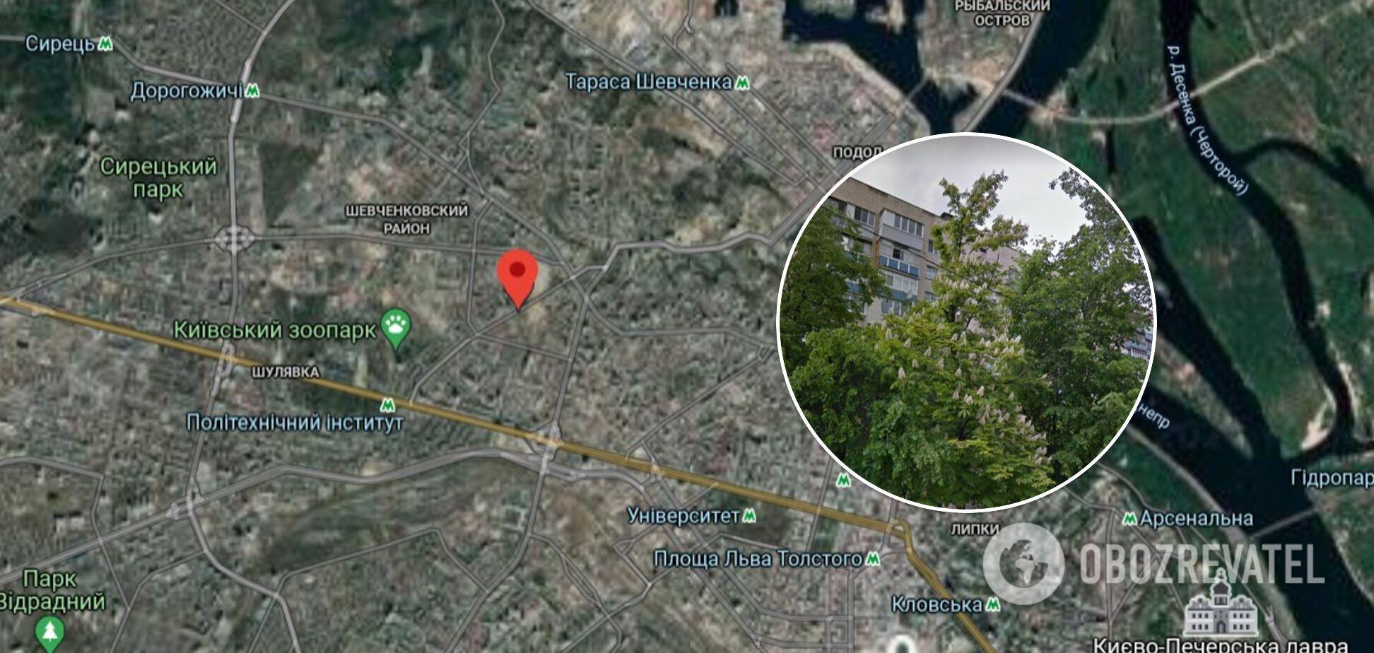 Дом, где произошла кража, находится на улице Коперника