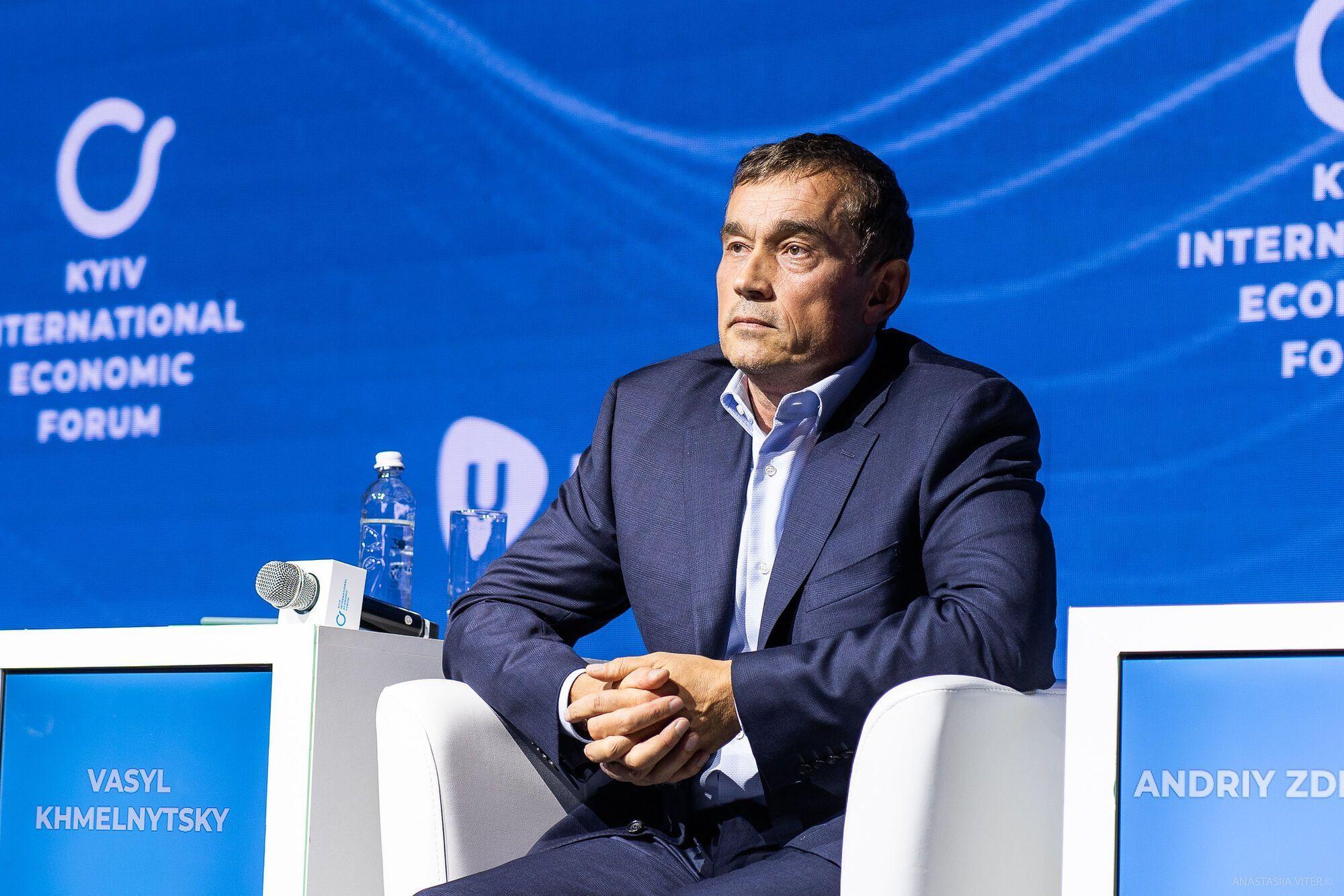 Василий Хмельницкий, инициатор КМЭФ и глава холдинговой компании Ufuture