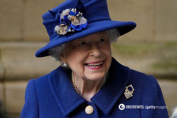 Королева Єлизавета II на офіційному заході.