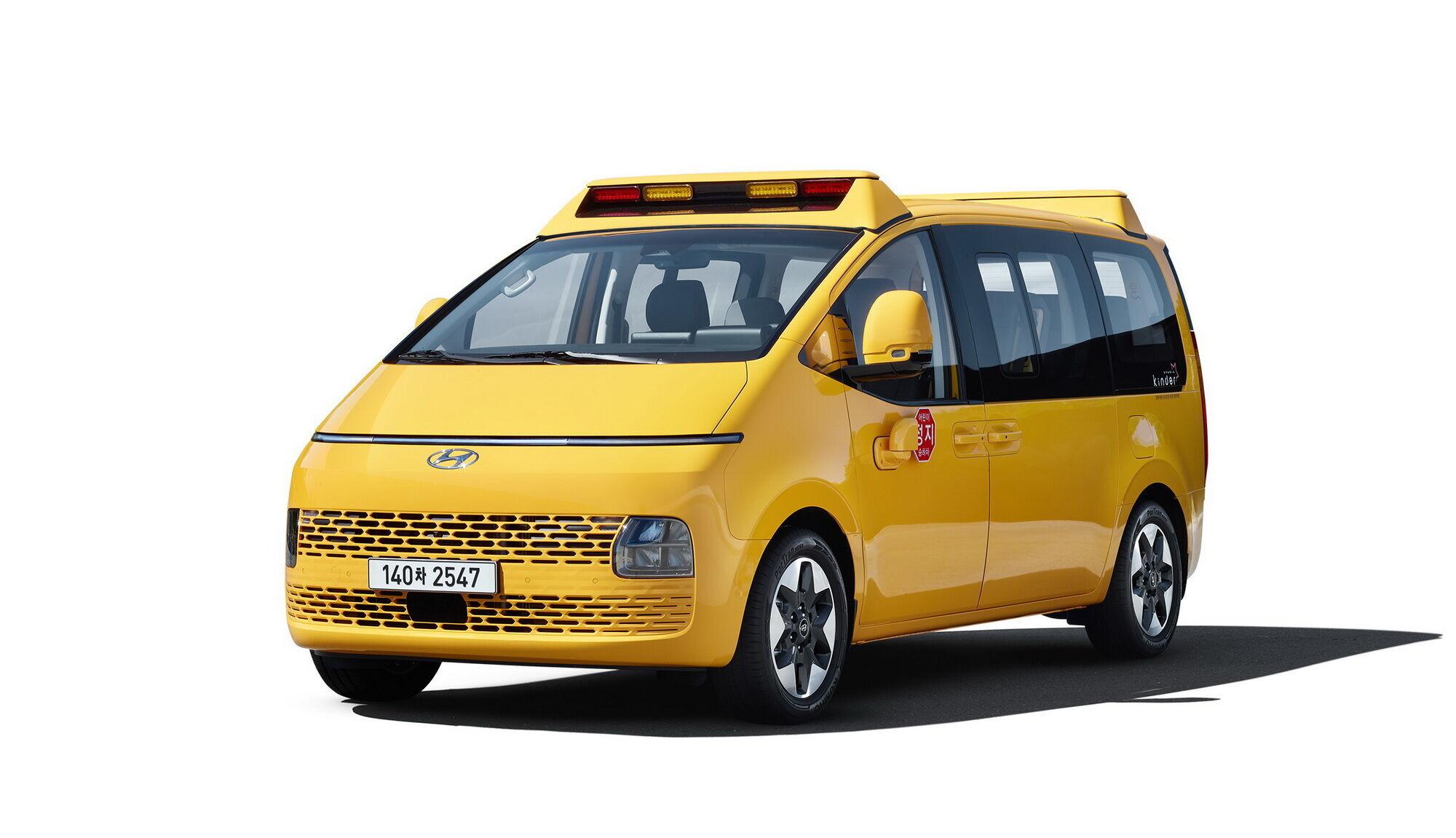 В компании Hyundai продолжают расширять семейство минивена Starna