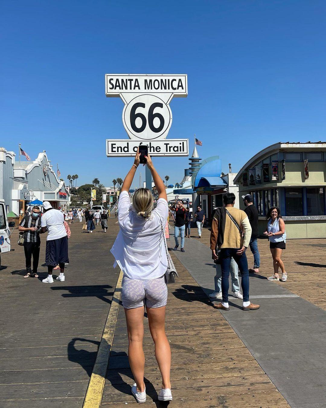 Марта Костюк в Калифорнии.