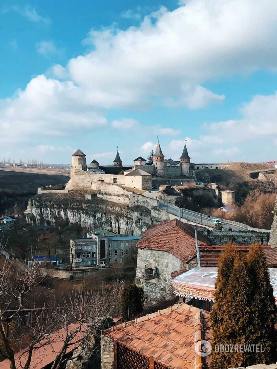 """На території фортеці знімали фільм """"Тарас Бульба""""."""