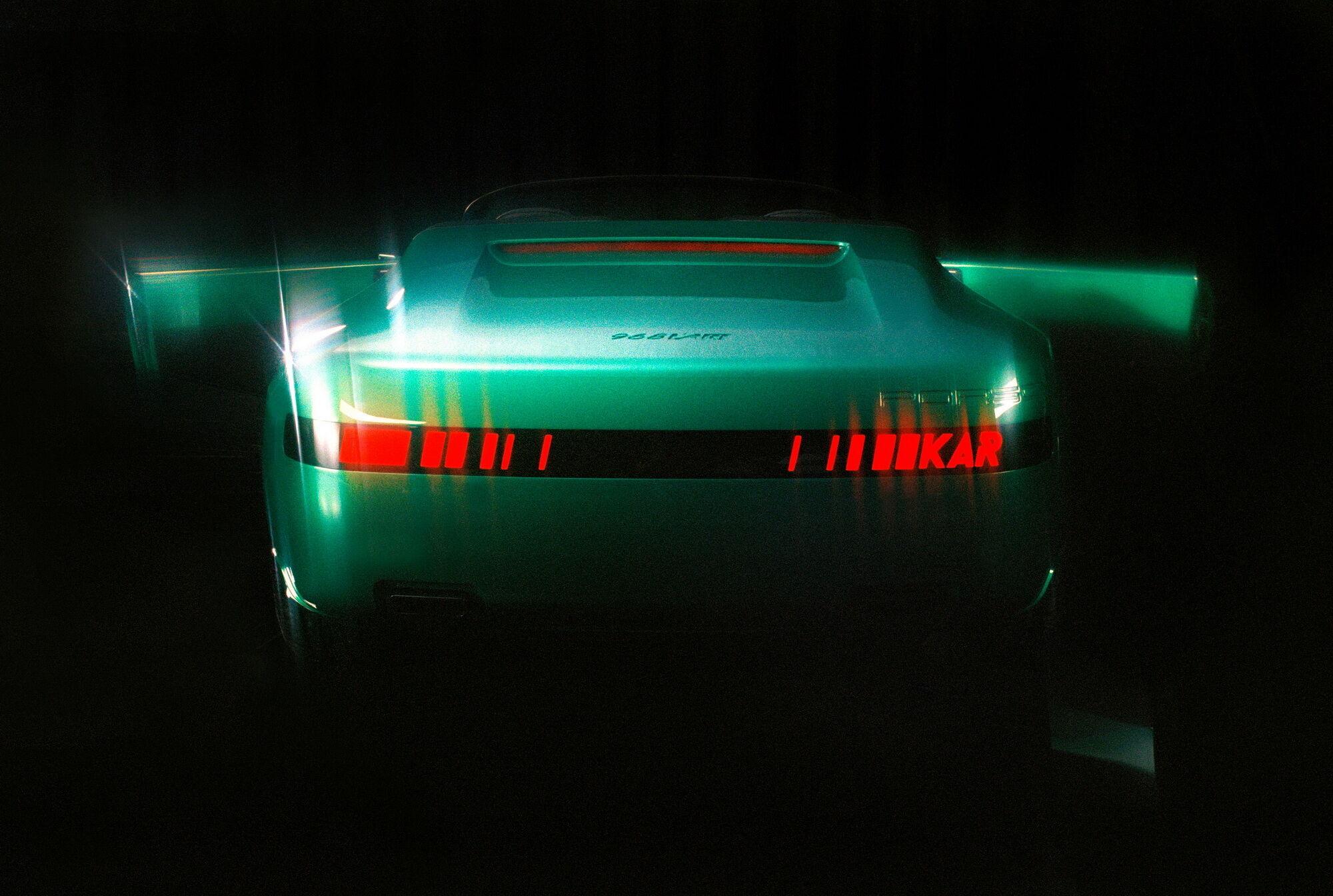 После презентации на Неделе моды в Париже, Porsche 968 L'ART отправится в мировое турне