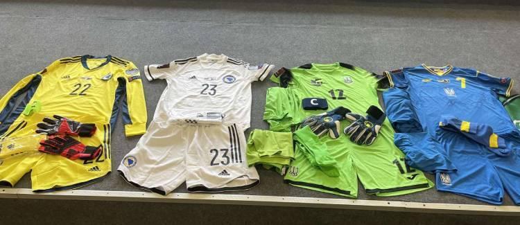 Форма на матч Украина – Босния и Герцеговина.