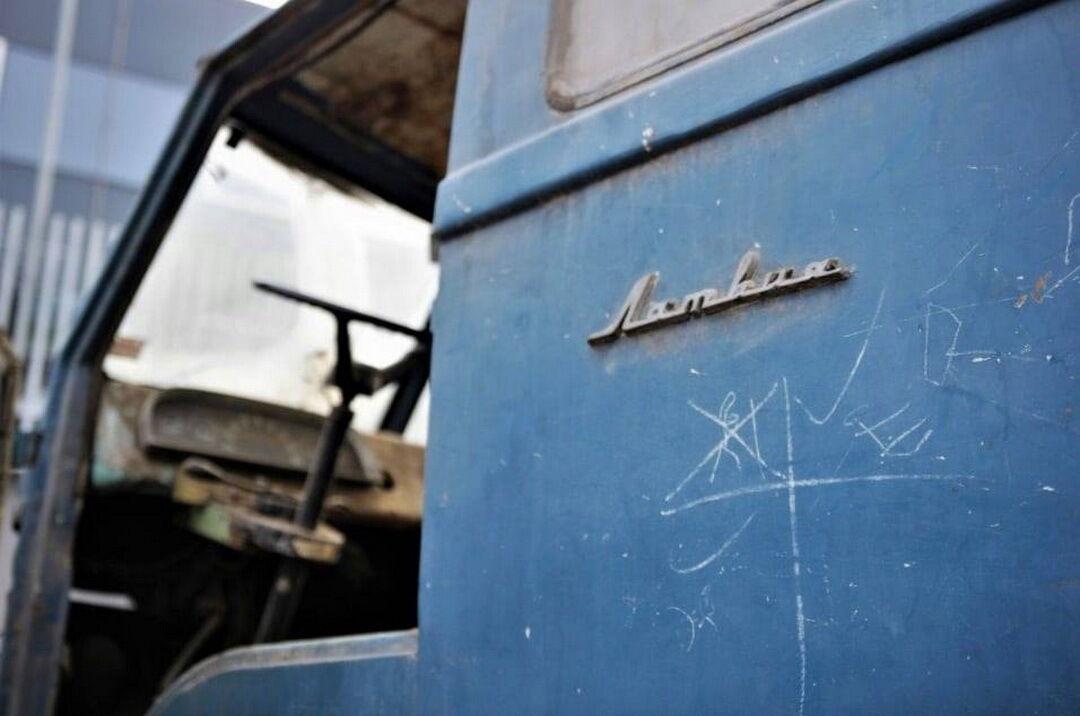 """На кузове сохранилась оригинальная надпись """"Латвия"""""""