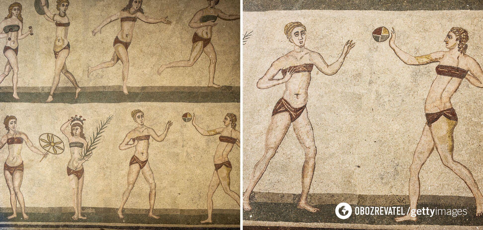 Мозаика на Вилле дель Казале, IV век н.э.