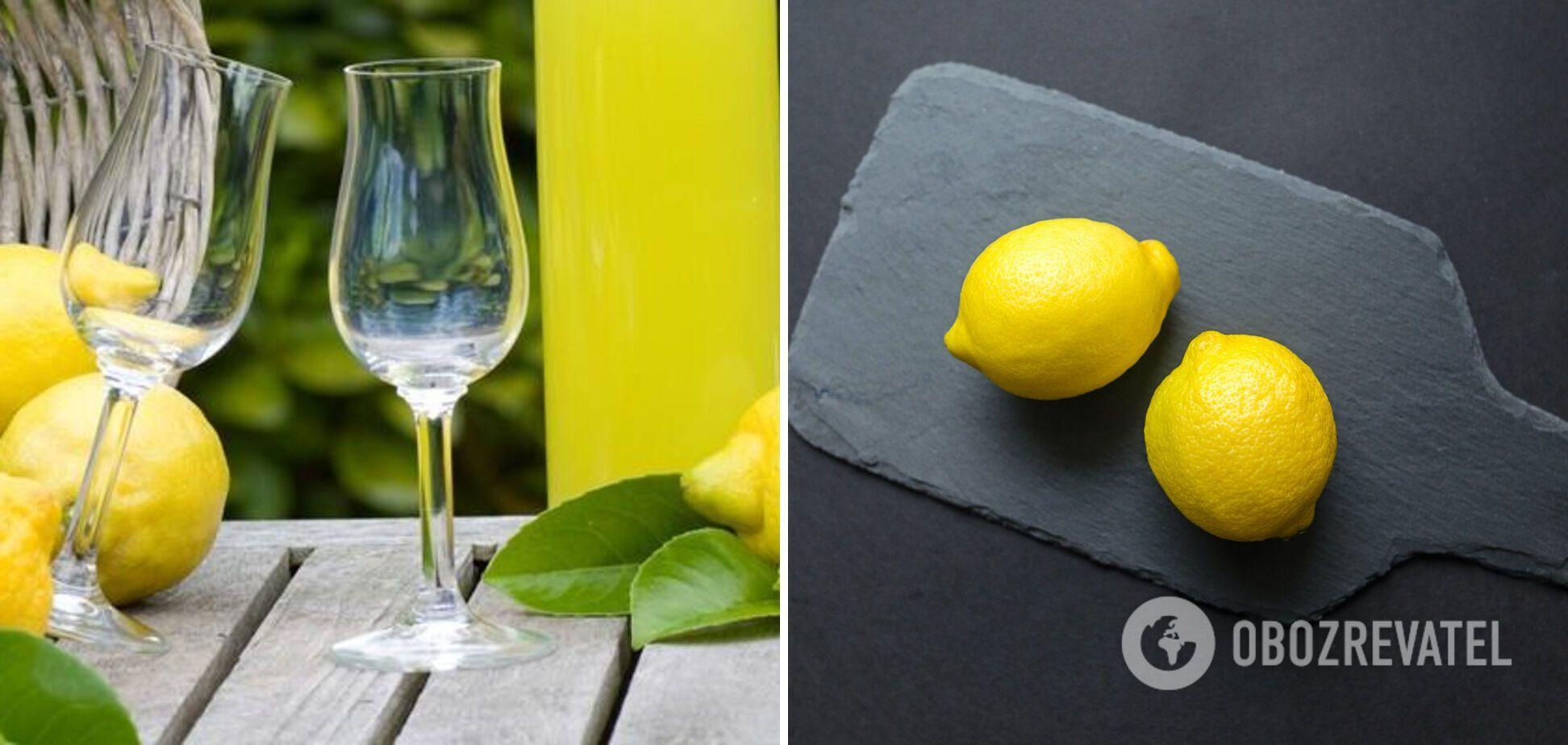 Лімончело – лікер на основі лимонів