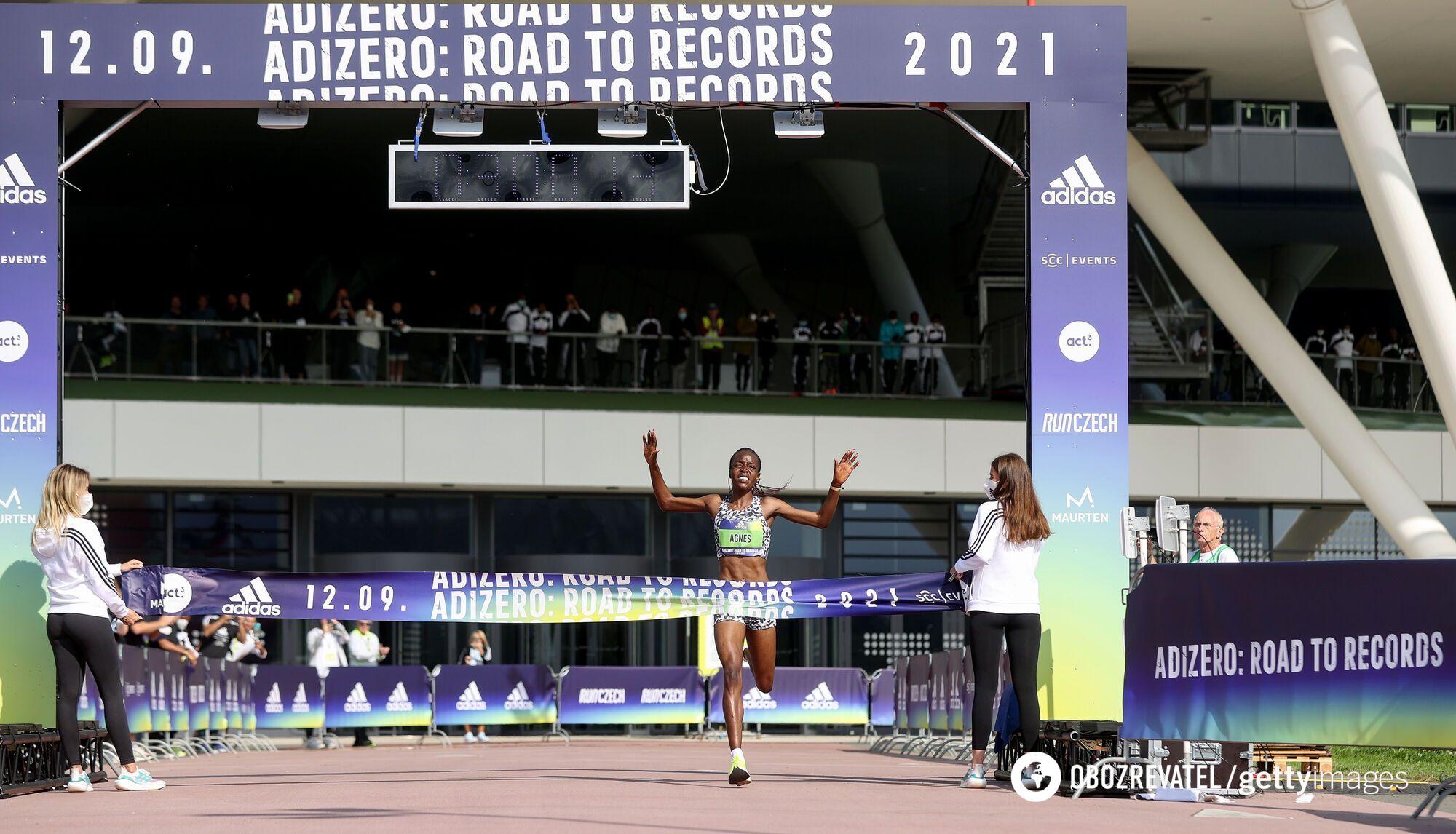 Агнес Тироп установила мировой рекорд