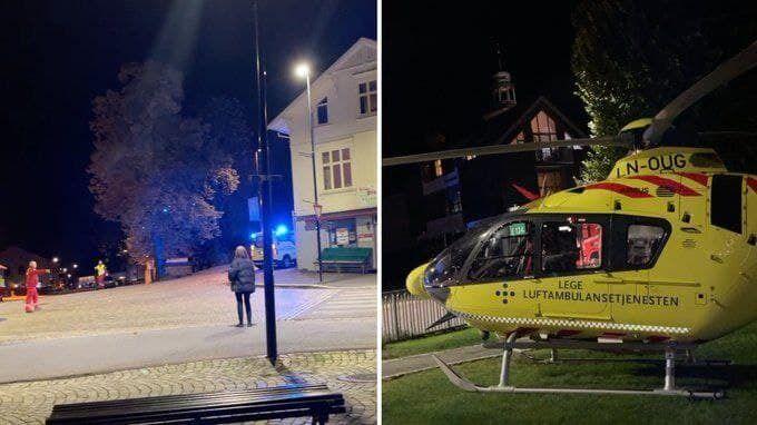 Инцидент произошел в городе Конгсберг
