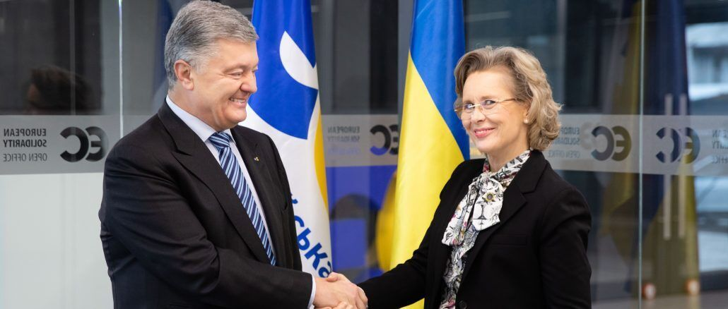 Порошенко докладно обговорив з очільницею ПА ОБСЄ  безпекову ситуацію на окупованому Донбасі
