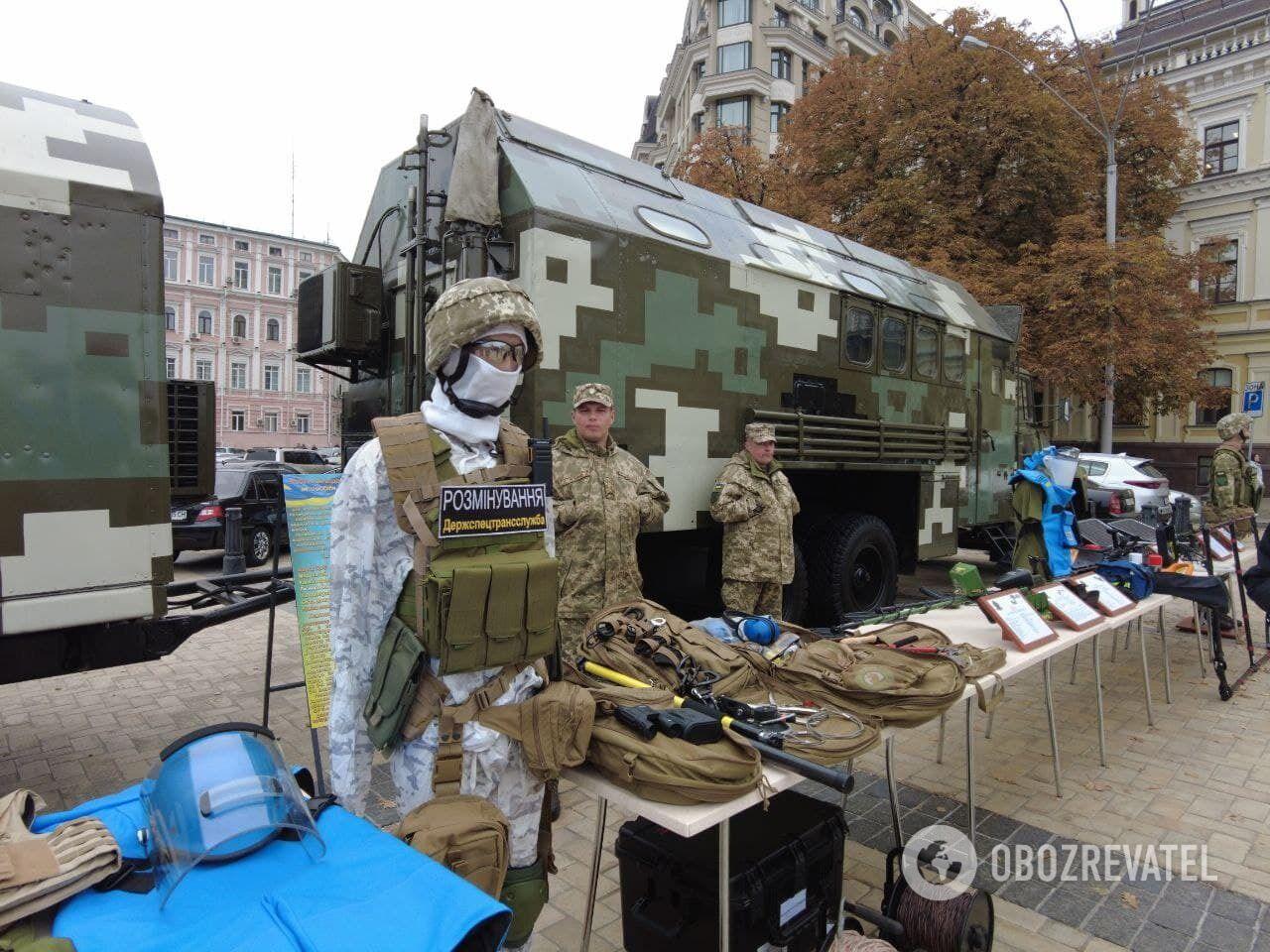 Выставка вооружения в Киеве.