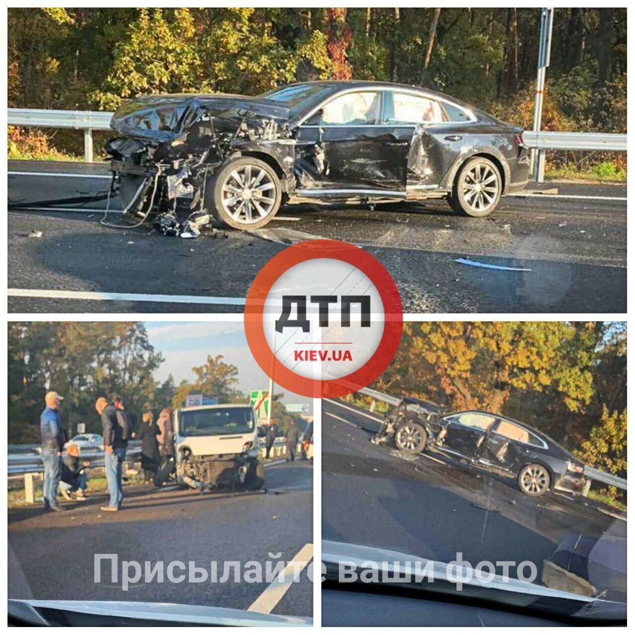 ДТП на Бориспільській дорозі