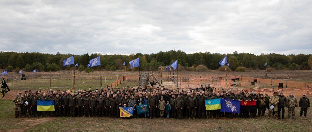 """В лагере """"Скажені птахи"""" состоялись первые тактические сборы ОО """"Res_Publika. Брати по зброї"""""""