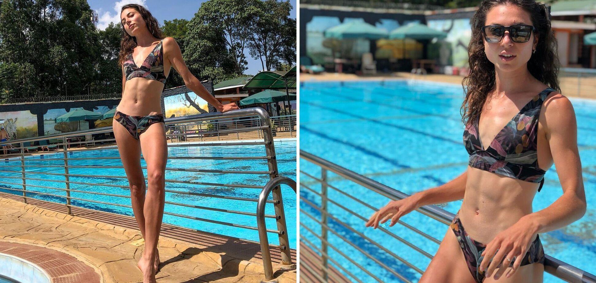 Ольга Ляховая любит загорать и плавать