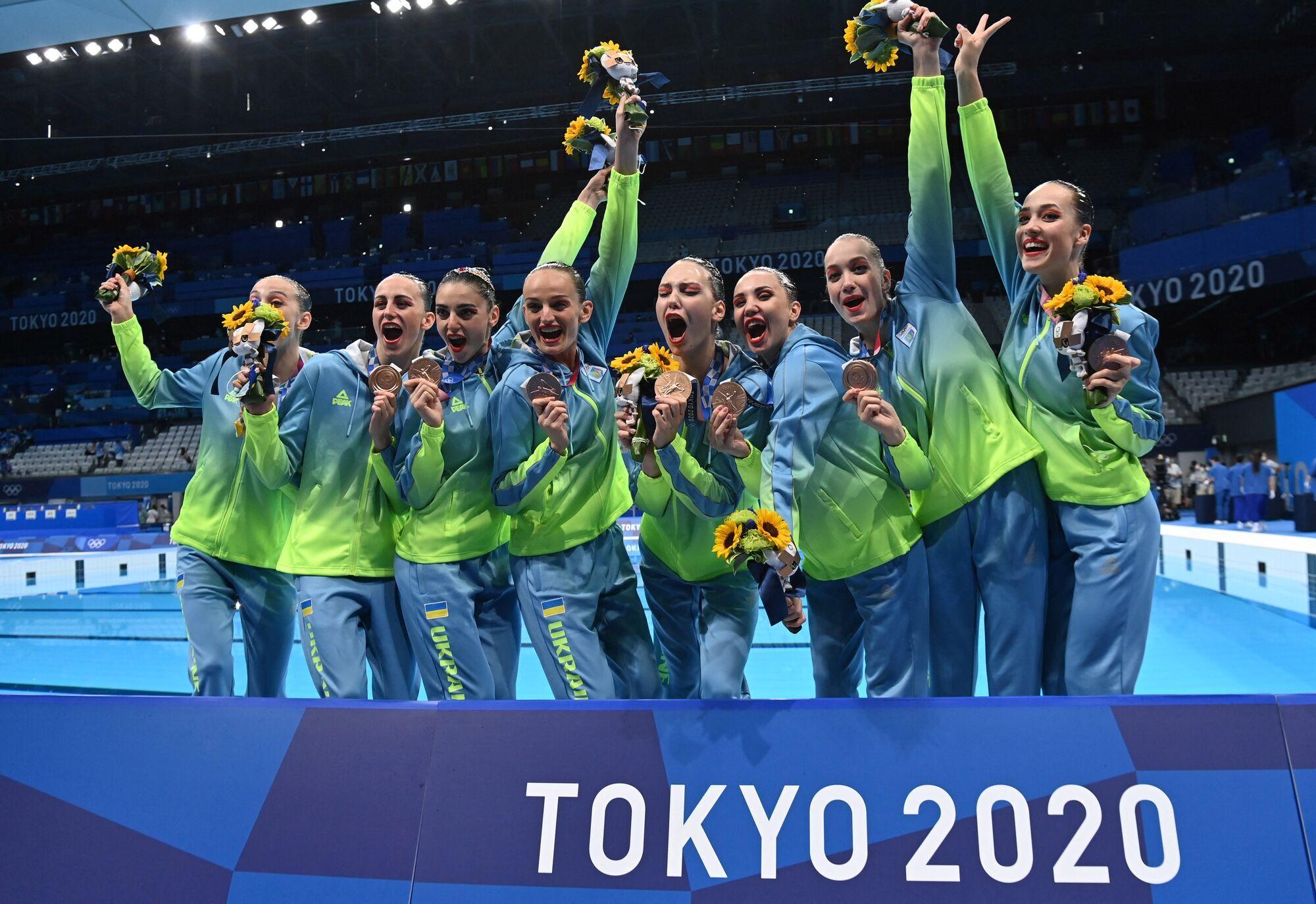 Сборная Украины по артистическому плаванию на Олимпиаде-2020