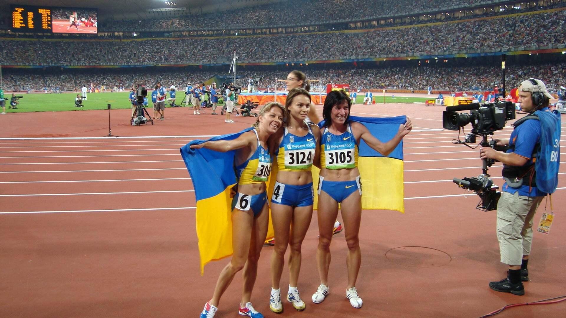 """Лищинская (справа) в 2008 году взяла """"серебро"""" Олимпийских игр."""